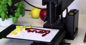 Еду можно готовить на 3D принтере